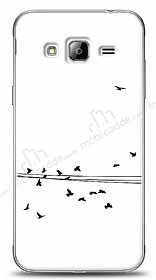 Samsung Galaxy J3 2016 Flying Birds Kılıf