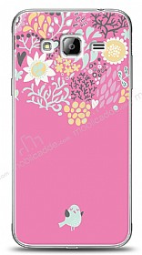 Dafoni Samsung Galaxy J3 2016 Lovely Bird K�l�f