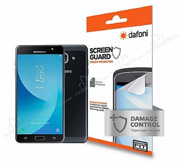 Dafoni Samsung Galaxy J7 Max Ön + Arka Darbe Emici Full Ekran Koruyucu Film