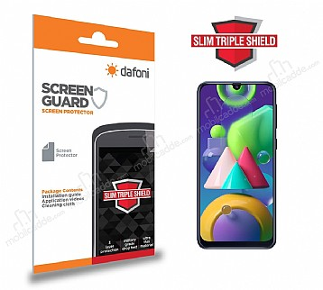 Dafoni Samsung Galaxy M21 Slim Triple Shield Ekran Koruyucu