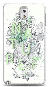 Dafoni Samsung Galaxy Note 3 Nature Flower K�l�f