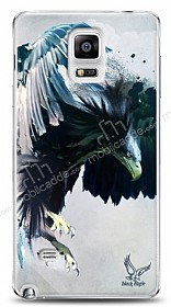 Dafoni Samsung Galaxy Note 4 Black Eagle Kılıf