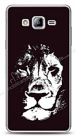 Dafoni Samsung Galaxy On5 Black Lion K�l�f