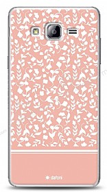 Samsung Galaxy On7 Pink Flower Kılıf
