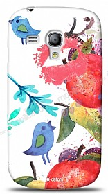 Dafoni Samsung Galaxy S3 mini Water Color Kiss K�l�f