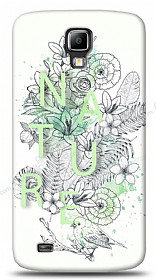 Dafoni Samsung Galaxy S4 Active Nature Flower K�l�f