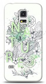 Samsung Galaxy S5 mini Nature Flower Kılıf