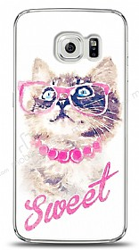 Samsung Galaxy S6 edge Sweet Cat Kılıf