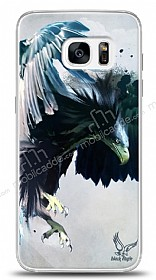 Dafoni Samsung Galaxy S7 Edge Black Eagle K�l�f