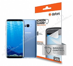 Dafoni Samsung Galaxy S8 Plus Ön + Arka Darbe Emici Full Ekran Koruyucu Film