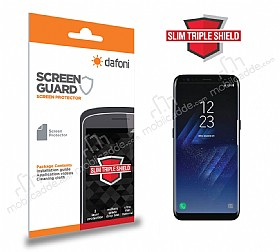 Dafoni Samsung Galaxy S8 Plus Slim Triple Shield Ekran Koruyucu