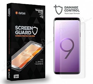 Dafoni Samsung Galaxy S9 Plus Curve Darbe Emici Şeffaf Ön+Arka Ekran Koruyucu Film
