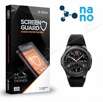 Dafoni Samsung Gear S3 Nano Glass Premium Ön + Arka Cam Ekran Koruyucu