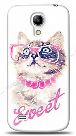 Dafoni Samsung i9190 Galaxy S4 mini Sweet Cat K�l�f