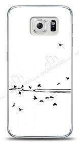 Dafoni Samsung i9800 Galaxy S6 Flying Birds Kılıf