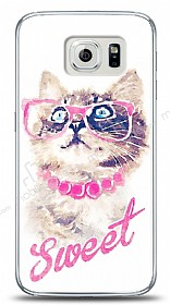 Samsung i9800 Galaxy S6 Sweet Cat Kılıf