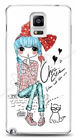 Dafoni Samsung N9100 Galaxy Note 4 Cute Chic Kılıf