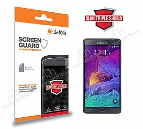 Dafoni Samsung N9100 Galaxy Note 4 Slim Triple Shield Ekran Koruyucu