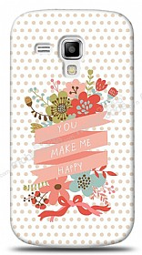 Dafoni Samsung S7562 / S7560 / S7580 You Make Me Happy K�l�f