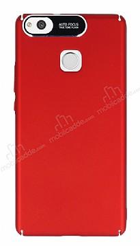 Dafoni Shade Huawei P9 Lite Kamera Korumalı Kırmızı Rubber Kılıf