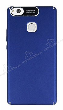 Dafoni Shade Huawei P9 Lite Kamera Korumalı Lacivert Rubber Kılıf