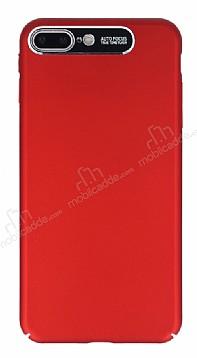 Dafoni Shade iPhone 7 Plus / 8 Plus Kamera Korumalı Kırmızı Rubber Kılıf