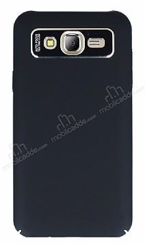 Dafoni Shade Samsung Galaxy J7 Kamera Korumalı Siyah Rubber Kılıf
