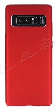 Dafoni Shade Samsung Galaxy Note 8 Kamera Korumalı Kırmızı Rubber Kılıf