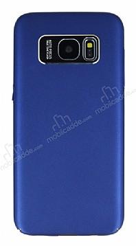 Dafoni Shade Samsung Galaxy S7 edge Kamera Korumalı Lacivert Rubber Kılıf