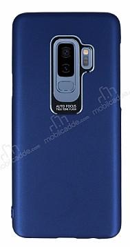 Dafoni Shade Samsung Galaxy S9 Kamera Korumalı Lacivert Rubber Kılıf