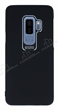 Dafoni Shade Samsung Galaxy S9 Kamera Korumalı Siyah Rubber Kılıf