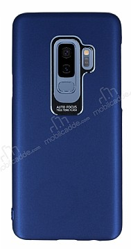 Dafoni Shade Samsung Galaxy S9 Plus Kamera Korumalı Lacivert Rubber Kılıf