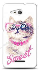 Sony Xperia E4g Sweet Cat Kılıf