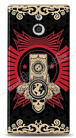 Sony Xperia P Skull Nation Kılıf