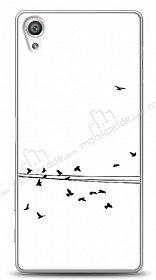Dafoni Sony Xperia X Performance Flying Birds Kılıf