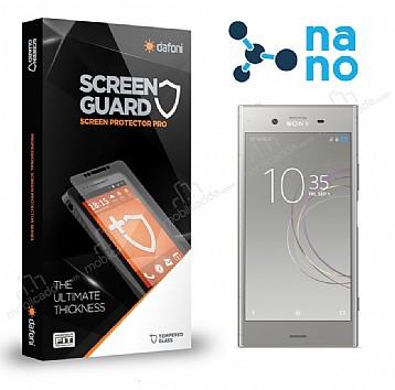 Dafoni Sony Xperia XZ1 Nano Glass Premium Cam Ekran Koruyucu