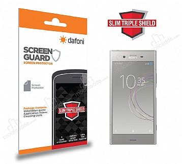 Dafoni Sony Xperia XZ1 Slim Triple Shield Ekran Koruyucu