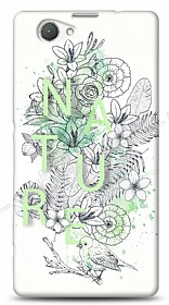Dafoni Sony Xperia Z1 Compact Nature Flower K�l�f