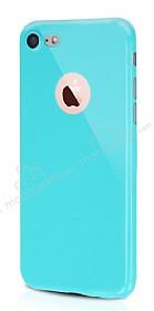 Dafoni Thin Air iPhone 7 Kamera Korumalı Yeşil Rubber Kılıf