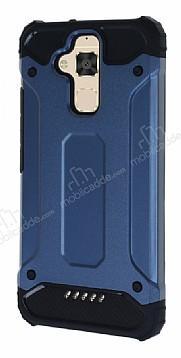 Dafoni Tough Power Asus Zenfone 3 Max ZC520TL Ultra Koruma Lacivert Kılıf
