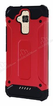 Dafoni Tough Power Asus Zenfone 3 Max ZC520TL Ultra Koruma Kırmızı Kılıf