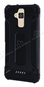 Dafoni Tough Power Asus Zenfone 3 Max ZC520TL Ultra Koruma Siyah Kılıf
