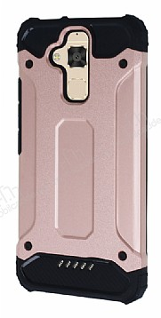 Dafoni Tough Power Asus Zenfone 3 Max ZC520TL Ultra Koruma Rose Gold Kılıf