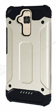Dafoni Tough Power Asus Zenfone 3 Max ZC520TL Ultra Koruma Gold Kılıf
