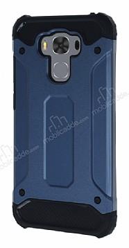 Dafoni Tough Power Asus ZenFone 3 Max ZC553KL Ultra Koruma Lacivert Kılıf