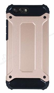 Tough Power Asus ZenFone 4 ZE554KL Ultra Koruma Rose Gold Kılıf