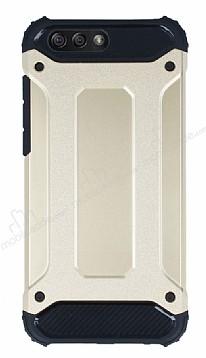 Tough Power Asus ZenFone 4 ZE554KL Ultra Koruma Gold Kılıf