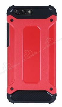 Tough Power Asus ZenFone 4 ZE554KL Ultra Koruma Kırmızı Kılıf