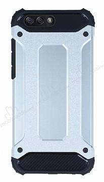 Tough Power Asus ZenFone 4 ZE554KL Ultra Koruma Silver Kılıf