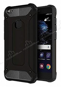 Dafoni Tough Power Huawei P10 Lite Ultra Koruma Siyah Kılıf